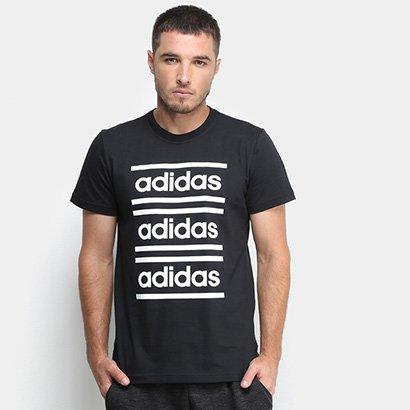 Camiseta Adidas Celebrate The 90s Masculina Masculino-Preto+Branco