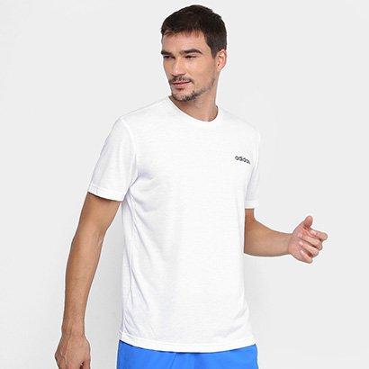 Camiseta Adidas D2M Cla Feel Ready Masculina Masculino-Branco