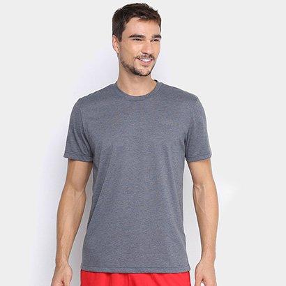 Camiseta Adidas D2M Cla Feel Ready Masculina Masculino-Grafite