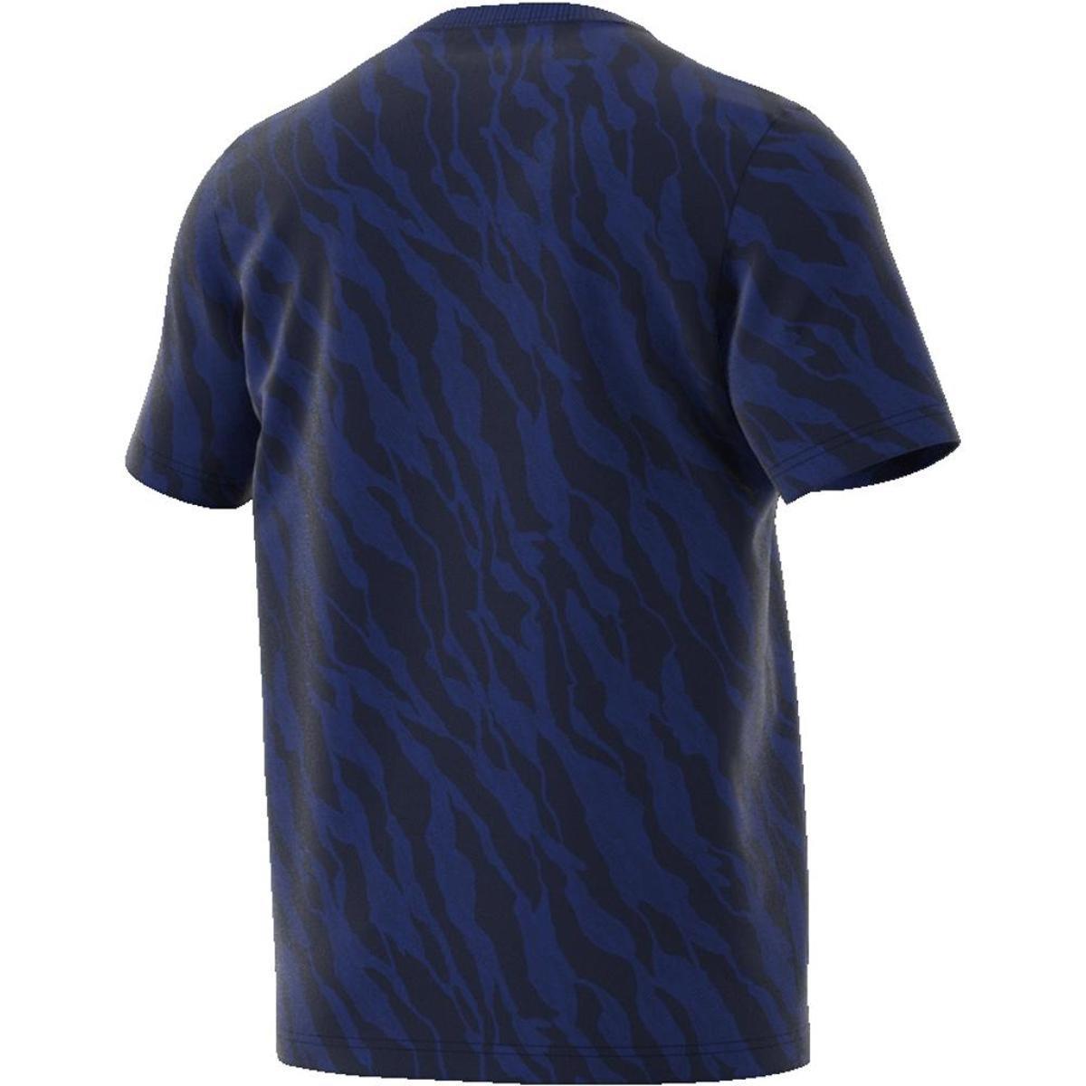 41f3f29af1 Camiseta Adidas Ess Aop Masculina  Camiseta Adidas Ess Aop Masculina ...