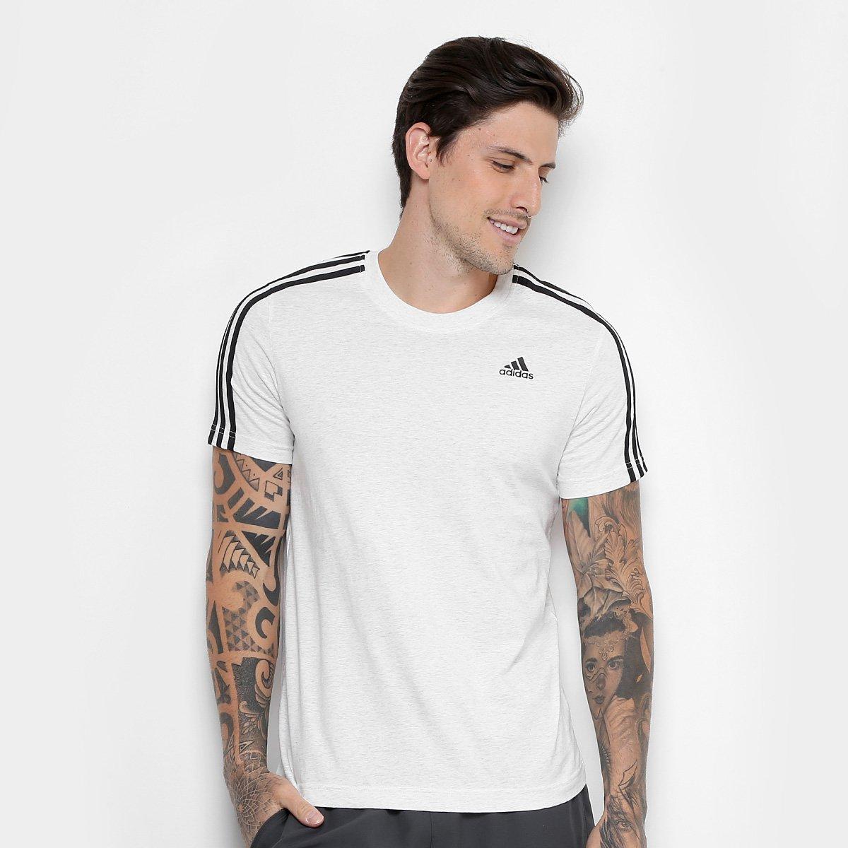 73b4b904928 Camiseta Adidas Essentials 3 Stripes Masculina - Compre Agora