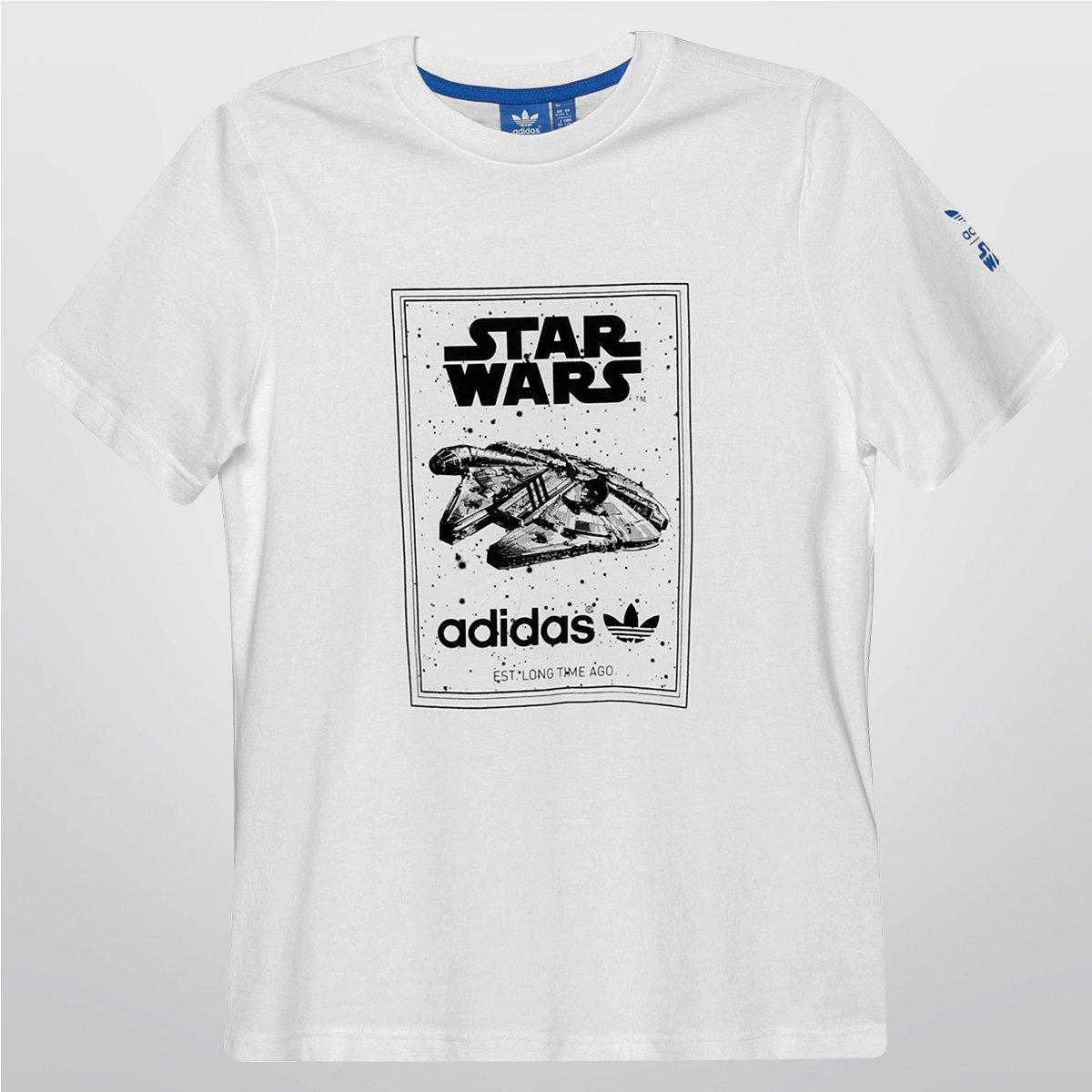 Geografía moral Rizo  Camiseta Adidas J SW MF Tee Infantil | Zattini