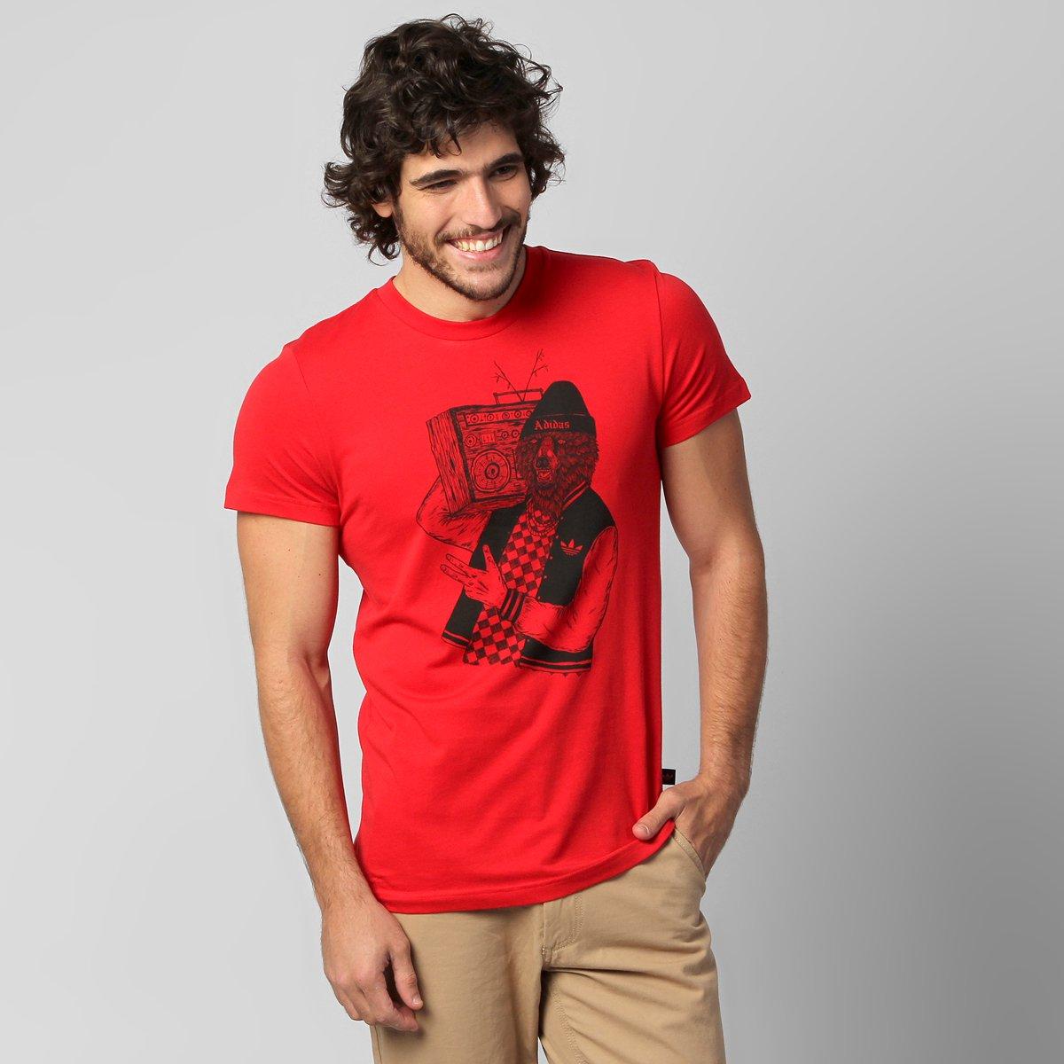 349adc28a Camiseta Adidas Originals Bear - Compre Agora   Zattini