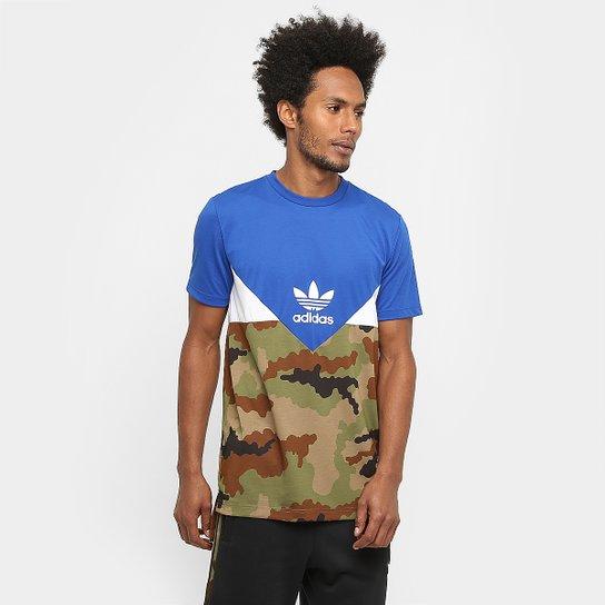 Rubí Anotar ácido  Camiseta Adidas Originals Es Crdo July Long | Zattini