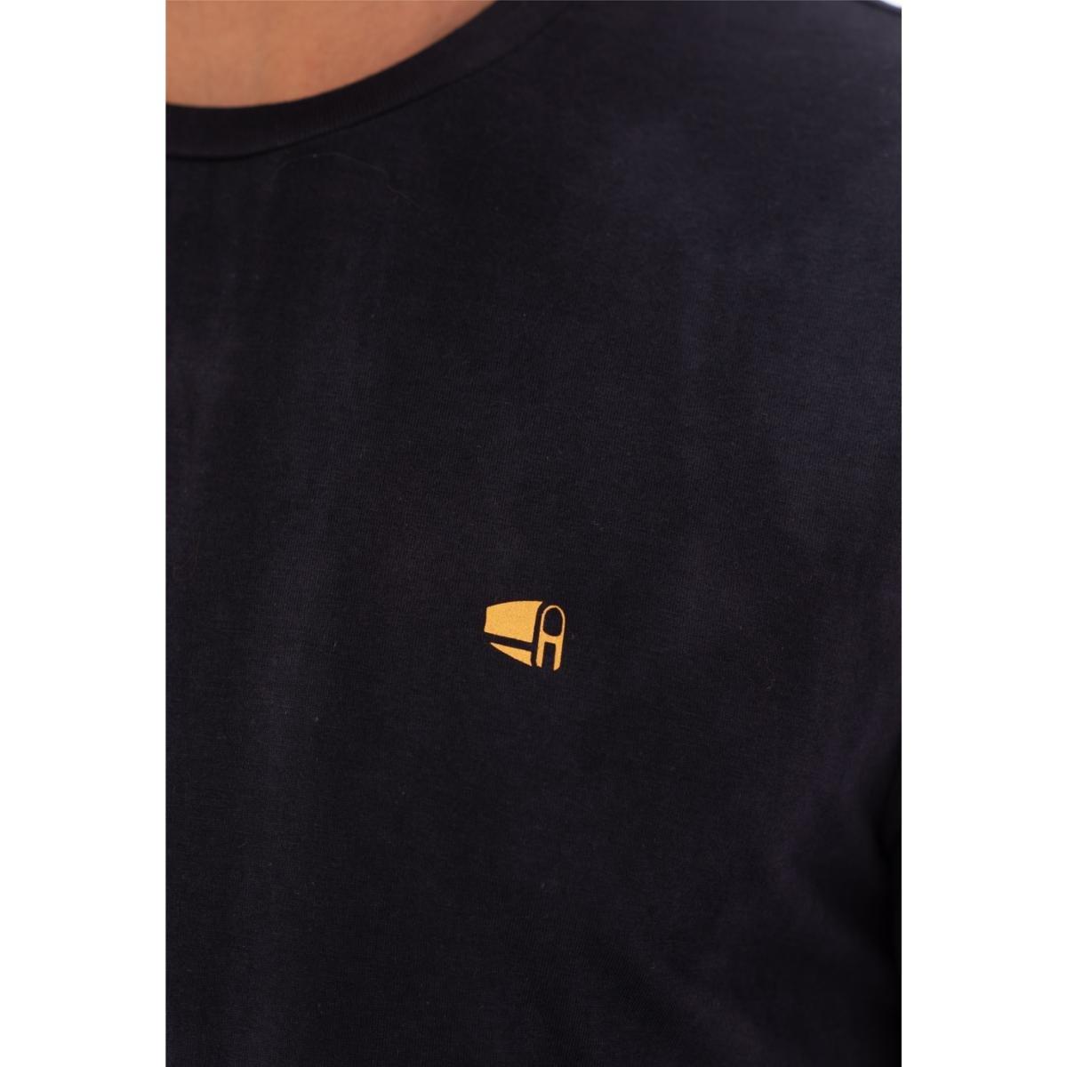 Camiseta Aee Surf Slim New Splash Masculina - Azul Escuro