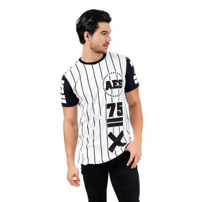 Camiseta AES 1975 Alongada (swag) ll Masculina