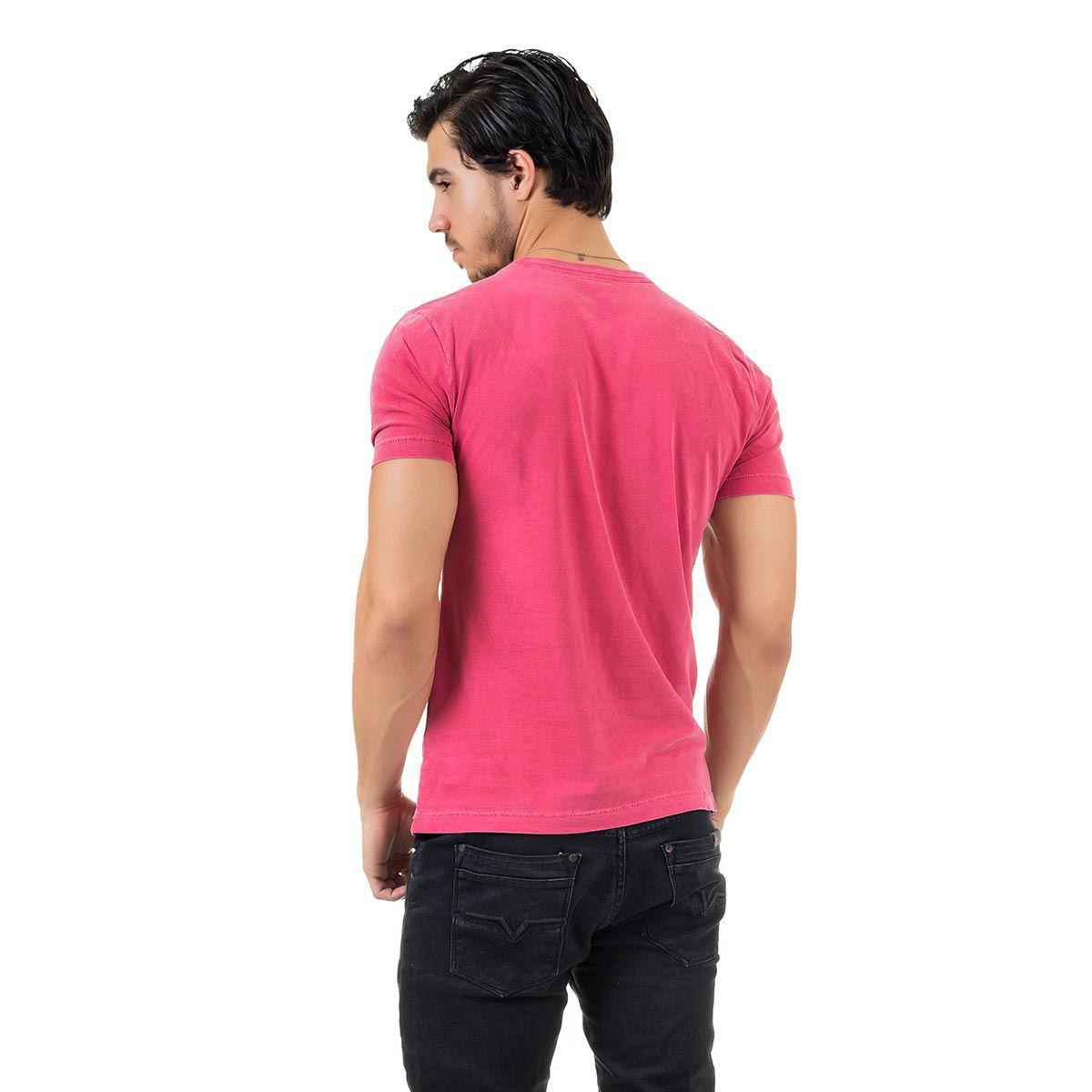 Camiseta AES 1975 Boat Seas Masculina - Vermelho