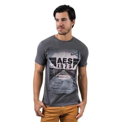Camiseta AES 1975 Dock Masculina
