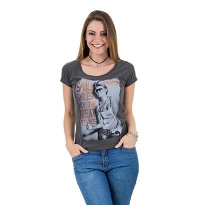 Camiseta AES 1975 Happiness Feminina