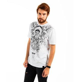Camiseta AES 1975 Indian Skull Masculina