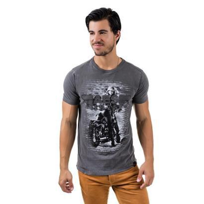 Camiseta AES 1975 Rebel Masculina