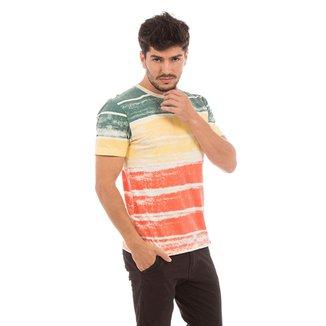 Camiseta AES 1975 Striped Masculina
