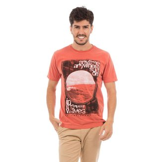 Camiseta AES 1975 Sun in the Waves Masculina