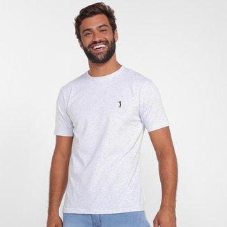 Camiseta Aleatory Básica Lisa Masculina
