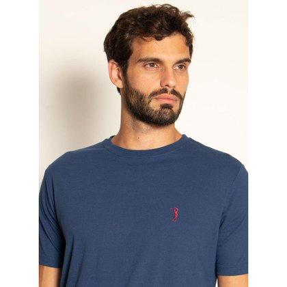 Camiseta Aleatory Básica Lisa Mescla