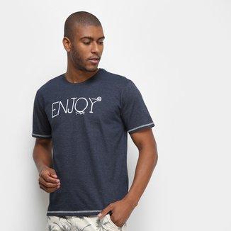 Camiseta Aleatory Enjoy Masculina
