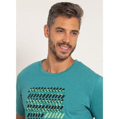 Camiseta Aleatory Estampada Arrow