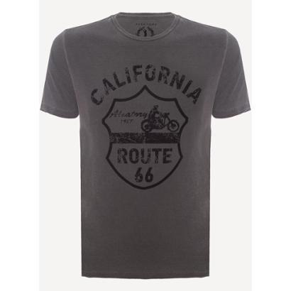 Camiseta Aleatory Estampada California Masculina