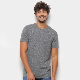 Camiseta Aleatory Estampada Masculina