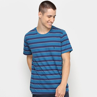 Camiseta Aleatory Fio Tinto Masculina