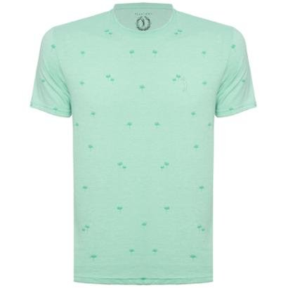 Camiseta Aleatory Leaf Masculina