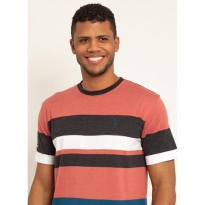 Camiseta Aleatory Listrada Ness Masculina