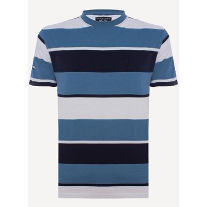Camiseta Aleatory Listrada Prime Masculina
