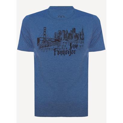 Camiseta Aleatory San Francisco Masculina