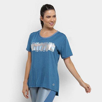 Camiseta Área Sports Byte - Feminino-Feminino