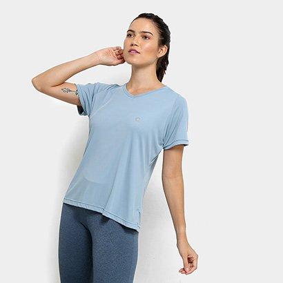 Camiseta Área Sports Virtual Feminina-Feminino