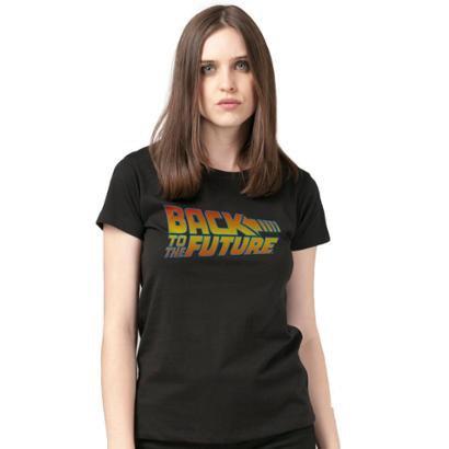 Camiseta Bandup! Back To The Future Logo