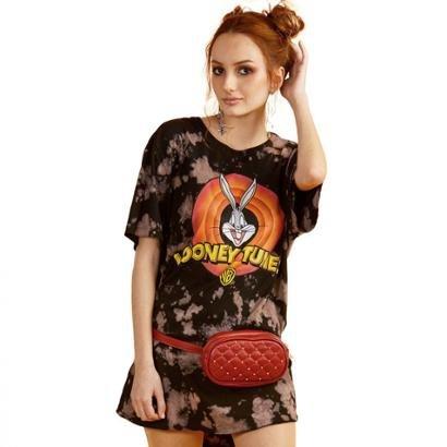 Camiseta BandUp! Feminina Looney Tunes Logo Feminina