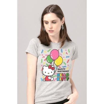 Camiseta Bandup!   Hello Kitty Birthday Ballons-Feminino