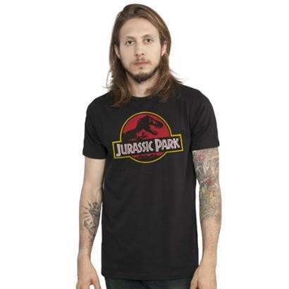 Camiseta Bandup! Jurassic Park Logo