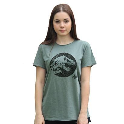 Camiseta Bandup! Jurassic World Dino Feminina-Feminino