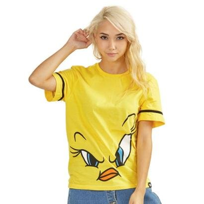 Camiseta Bandup!   Piu-Piu Face Oficial-Feminino