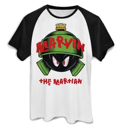 Camiseta Bandup! Raglan Marvin The Martian