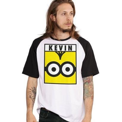Camiseta Bandup! Raglan Minions Kevin