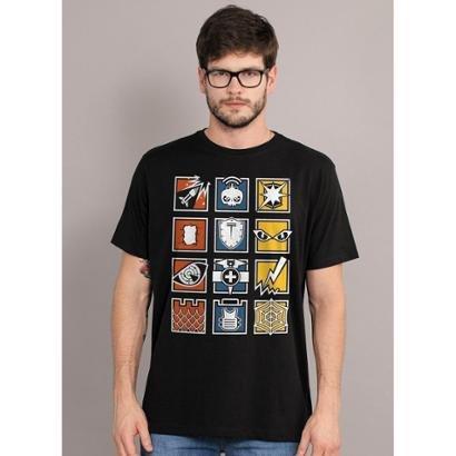 Camiseta Bandup! Rainbow Six Icons