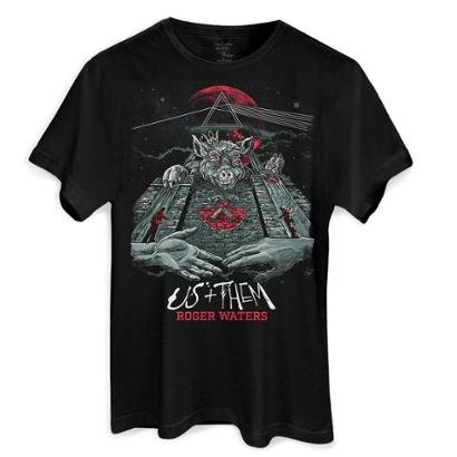 Camiseta Bandup! Roger Waters Pôster