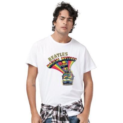 Camiseta Bandup! The Beatles Bus Basic