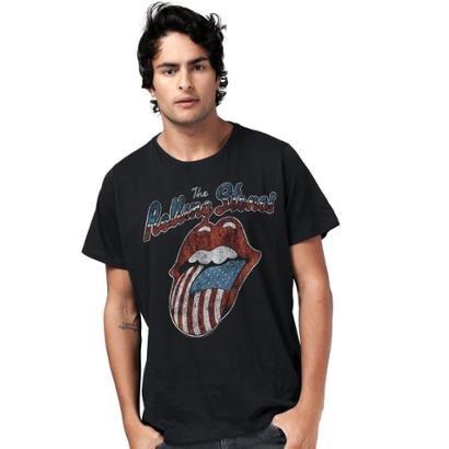 Camiseta Bandup! The Rolling Stones Flag