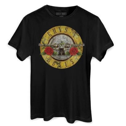 Camiseta Bandup Guns N' Roses Bullet Oficial