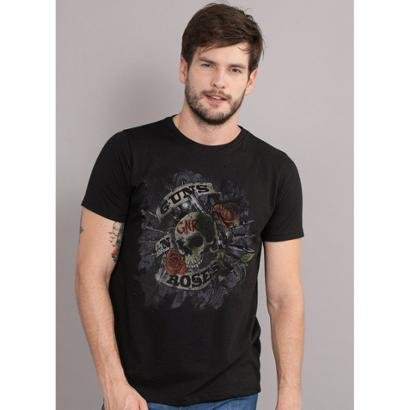 Camiseta Bandup Guns N' Roses Firepower