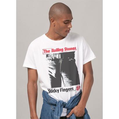 Camiseta Bandup The Rolling Stones Sticky Fingers