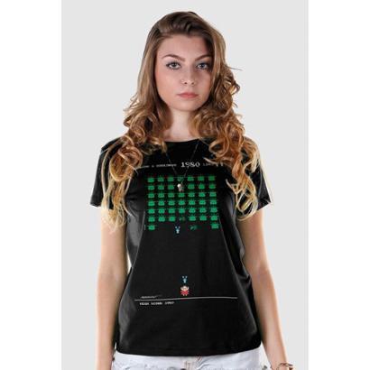 Camiseta Bandup   Turma Da Mônica 50 Anos Modelo 7 Anos 80-Feminino