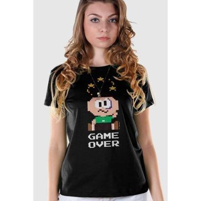 Camiseta Bandup Turma da Mônica Cebolinha Game Over