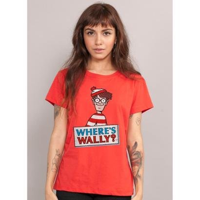 Camiseta Bandup Wally Where'S Wally? - Zattini BR