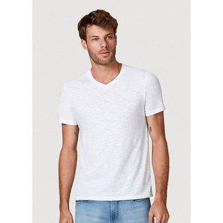 Camiseta Básica Masculina Flamê Com Decote V - N2K5NCMEN6
