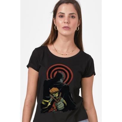 Camiseta Batman e Robin Feminina
